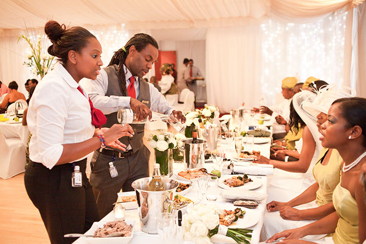 Caribbean Catering Beach Weddings: West Indian Caribbean Caterers In London
